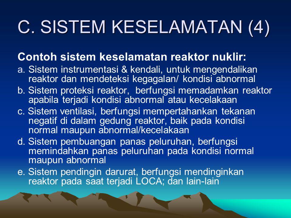 C. SISTEM KESELAMATAN (4)