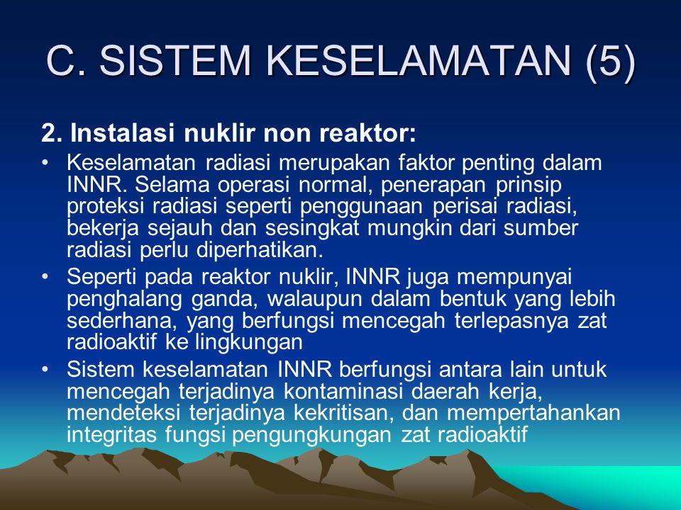 C. SISTEM KESELAMATAN (5)