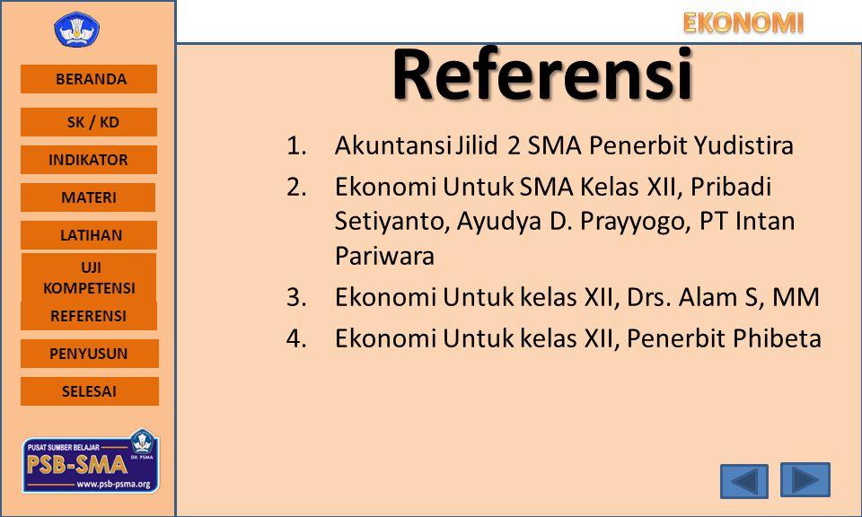 Referensi Akuntansi Jilid 2 SMA Penerbit Yudistira
