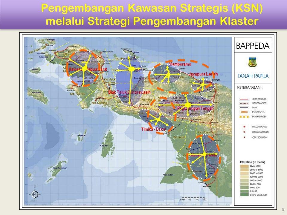 Pengembangan Kawasan Strategis (KSN) melalui Strategi Pengembangan Klaster