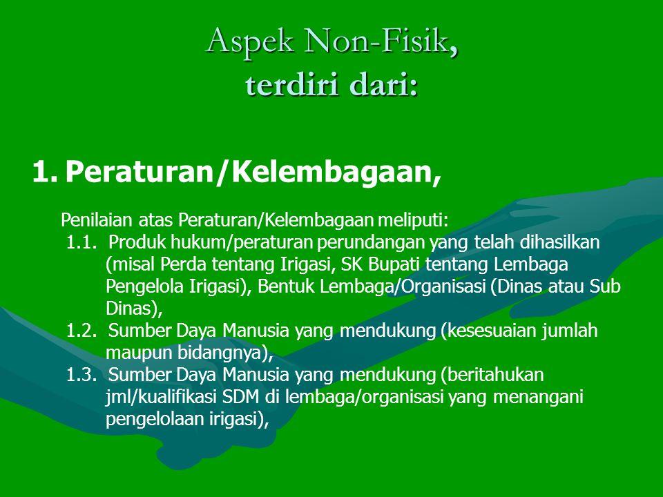 Aspek Non-Fisik, terdiri dari: