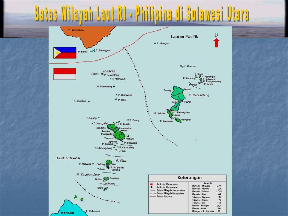 Batas Wilayah Laut RI - Philipina di Sulawesi Utara