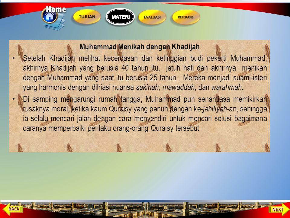 Muhammad Menikah dengan Khadijah