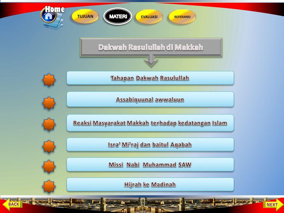 Dakwah Rasulullah di Makkah