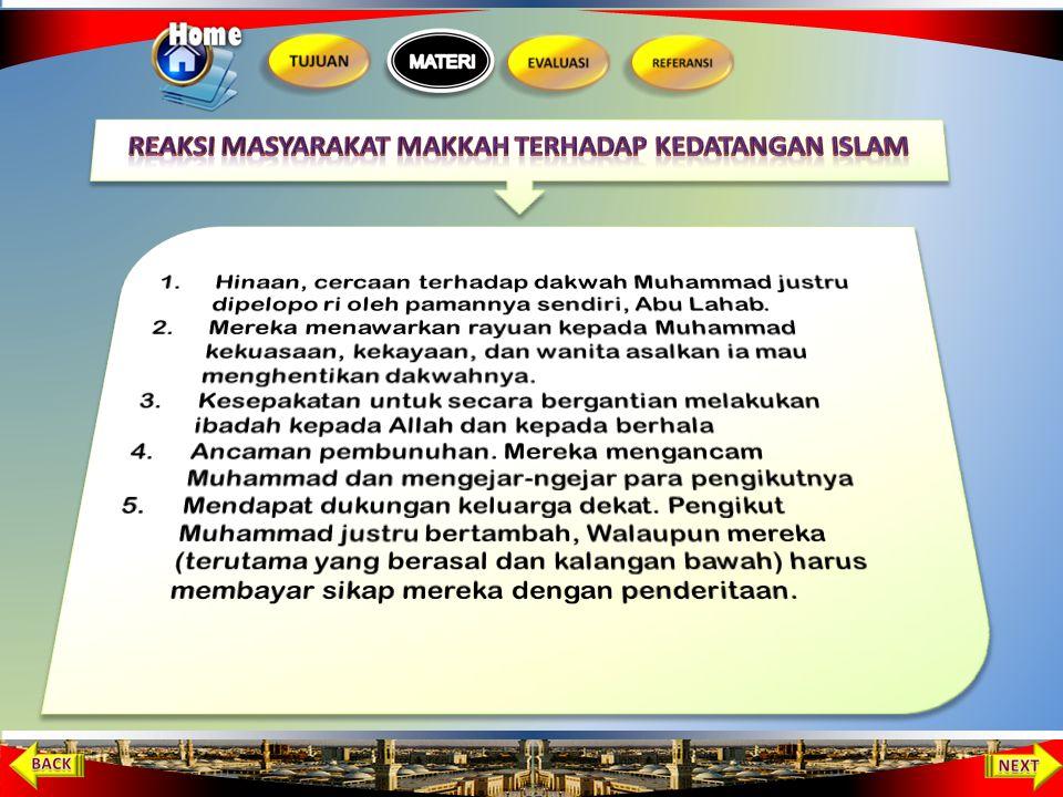 Reaksi Masyarakat Makkah terhadap Kedatangan Islam