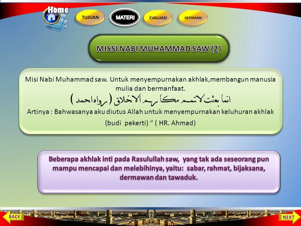 MISSI NABI MUHAMMAD SAW (2)