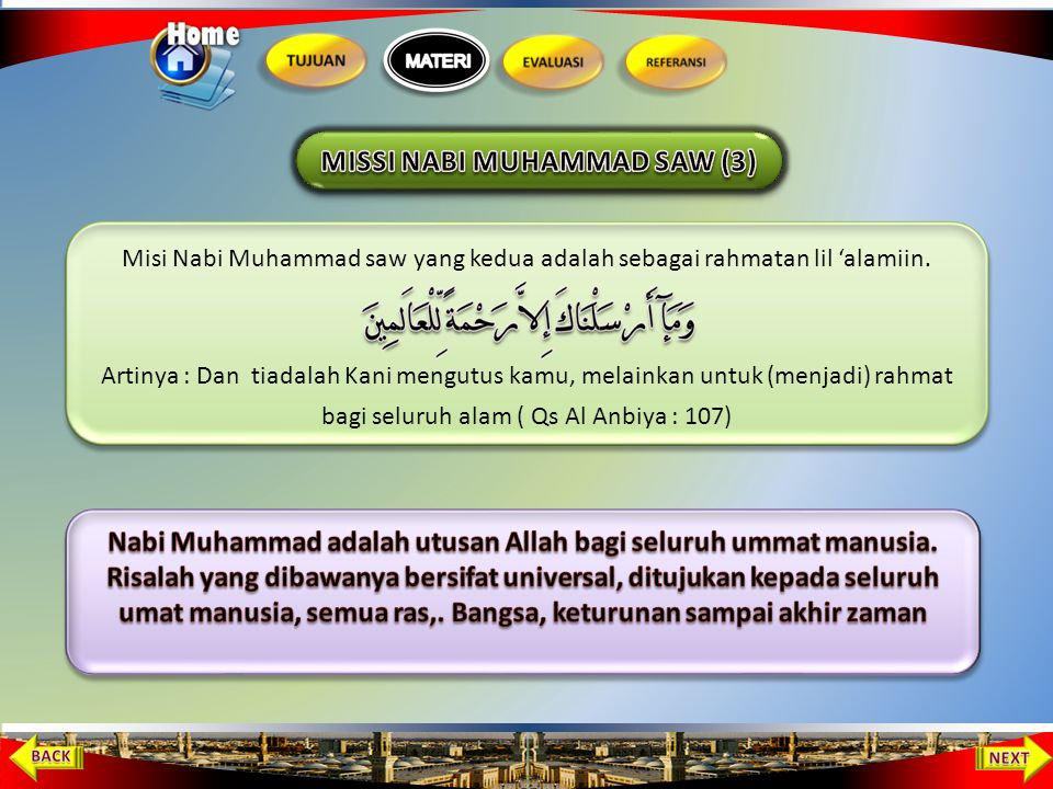 MISSI NABI MUHAMMAD SAW (3)