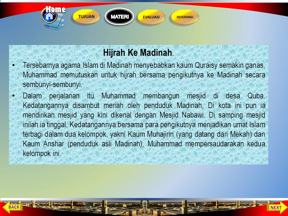 Hijrah Ke Madinah.