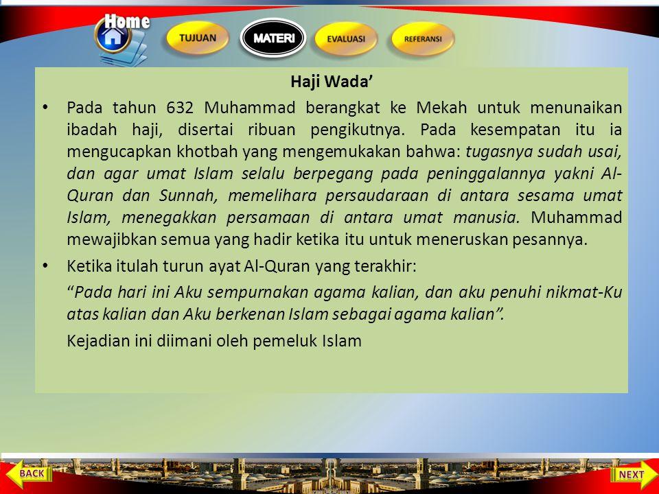 Haji Wada'