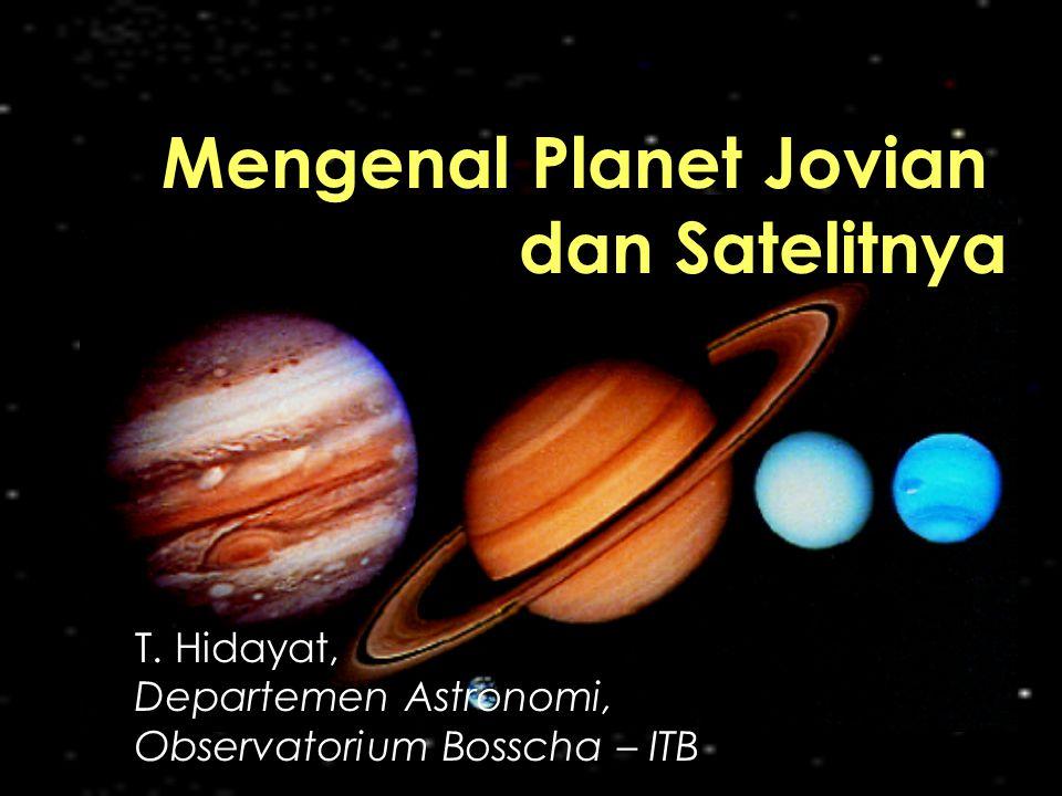T. Hidayat, Departemen Astronomi, Observatorium Bosscha – ITB