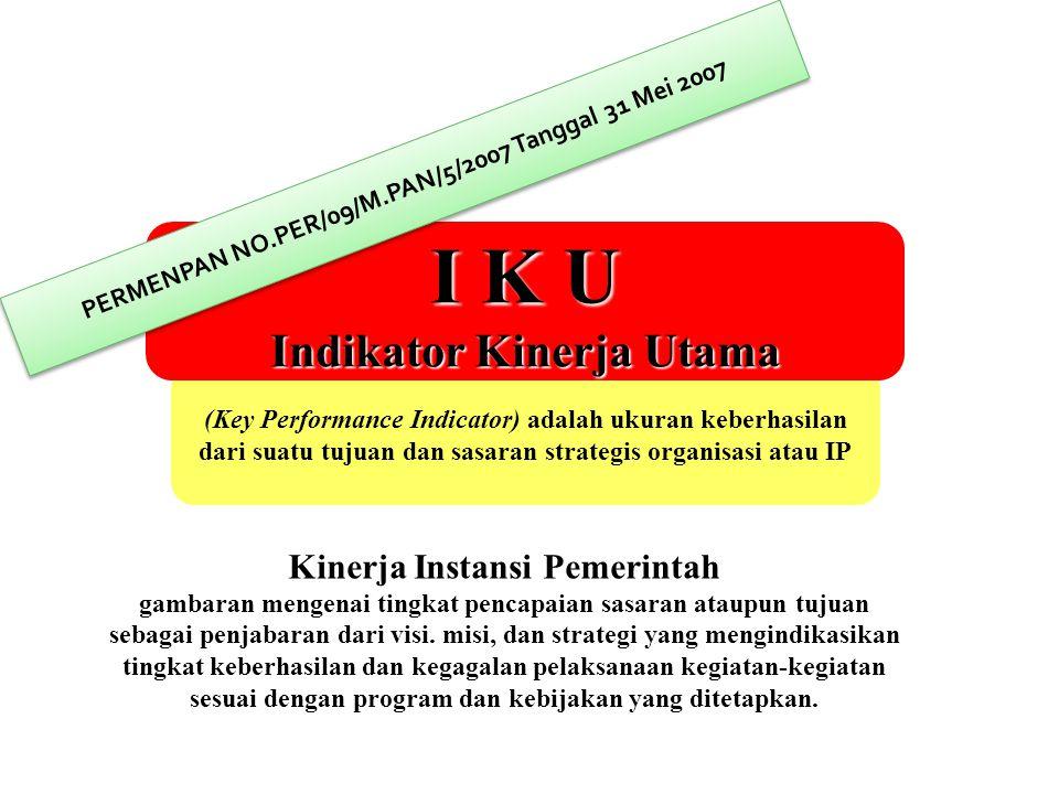 I K U Indikator Kinerja Utama