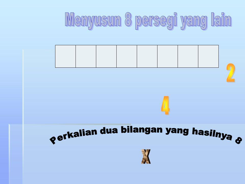 Menyusun 8 persegi yang lain
