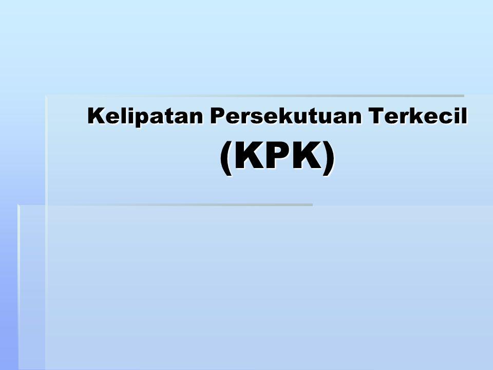 Kelipatan Persekutuan Terkecil (KPK)