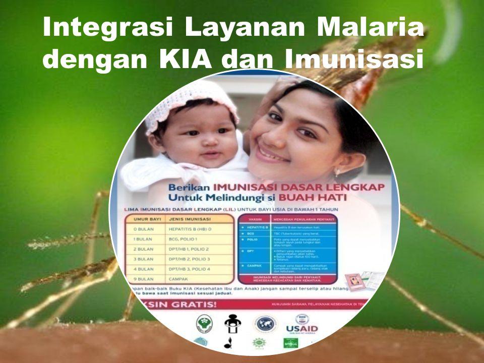Integrasi Layanan Malaria dengan KIA dan Imunisasi