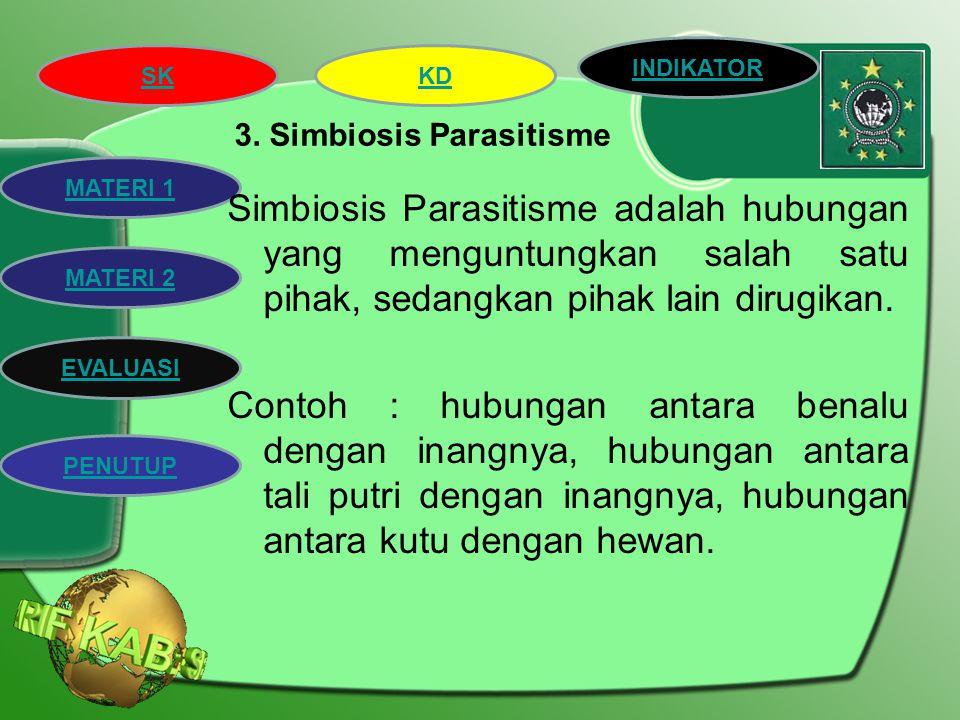 3. Simbiosis Parasitisme