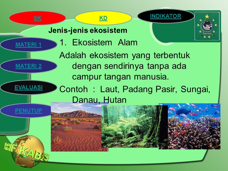 Jenis-jenis ekosistem
