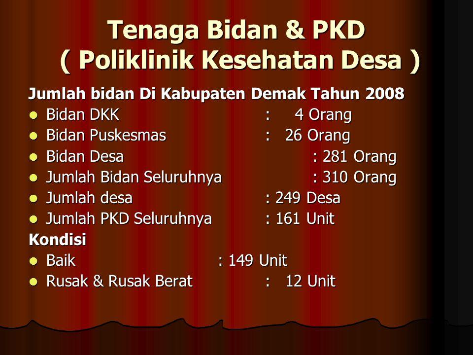 Tenaga Bidan & PKD ( Poliklinik Kesehatan Desa )