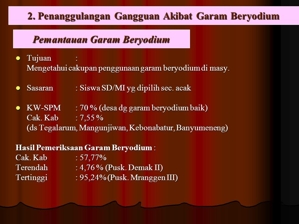 2. Penanggulangan Gangguan Akibat Garam Beryodium
