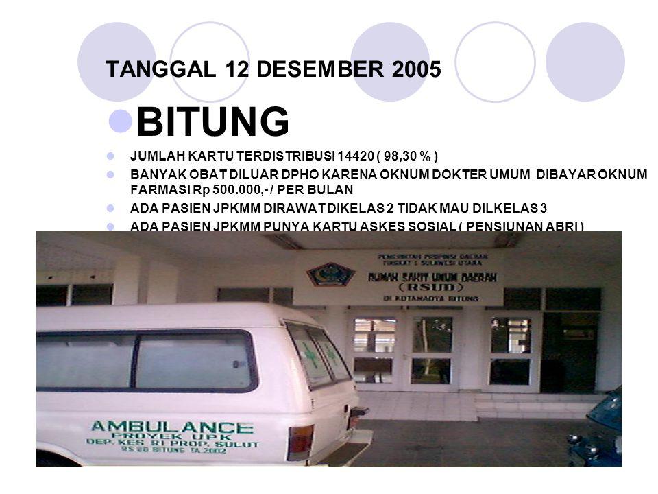 BITUNG TANGGAL 12 DESEMBER 2005