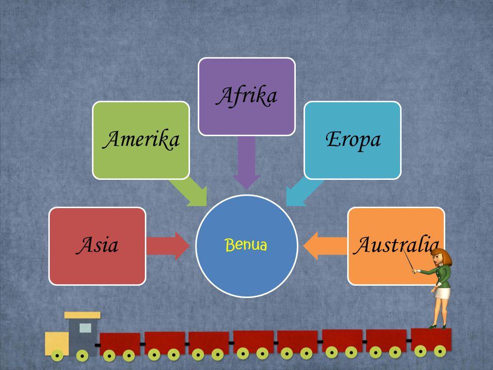 Benua Asia Amerika Afrika Eropa Australia