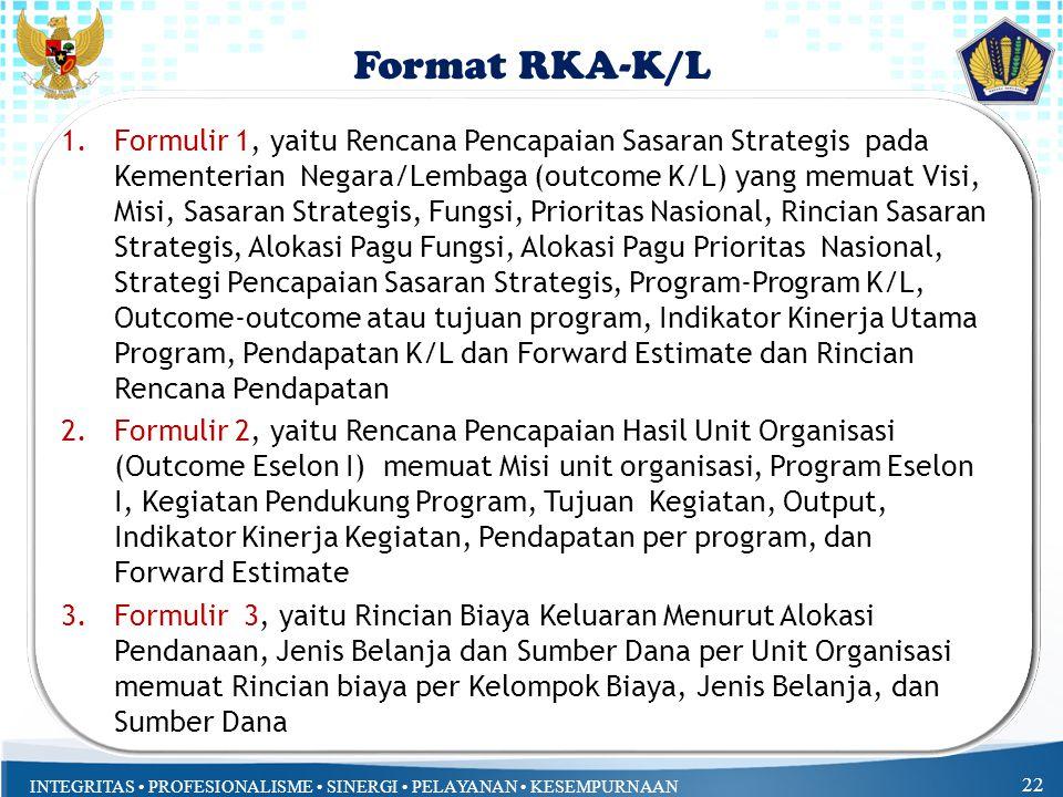 Format RKA-K/L