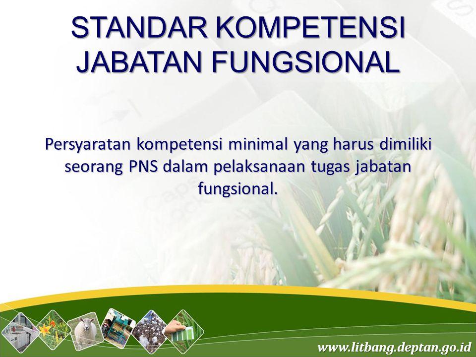 STANDAR KOMPETENSI JABATAN FUNGSIONAL