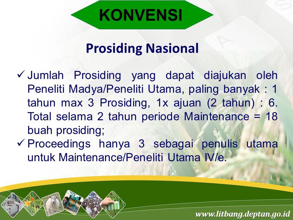 KONVENSI Prosiding Nasional