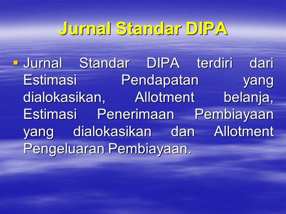 Jurnal Standar DIPA