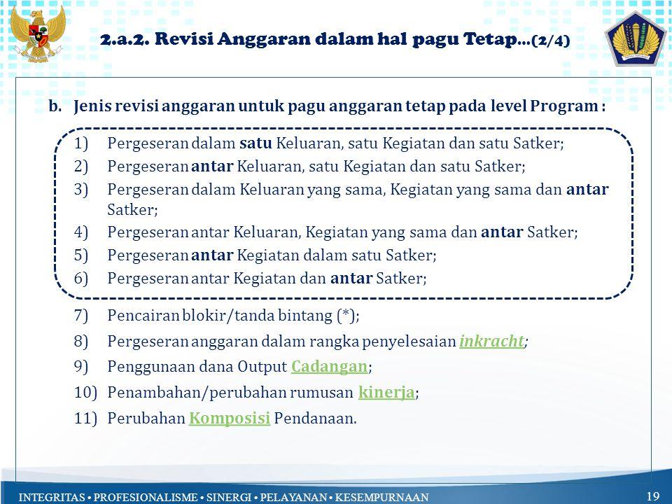 2.a.2. Revisi Anggaran dalam hal pagu Tetap…(2/4)