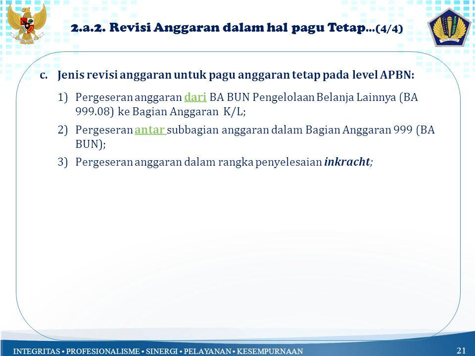 2.a.2. Revisi Anggaran dalam hal pagu Tetap…(4/4)