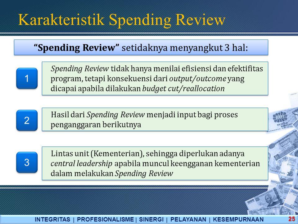 Karakteristik Spending Review