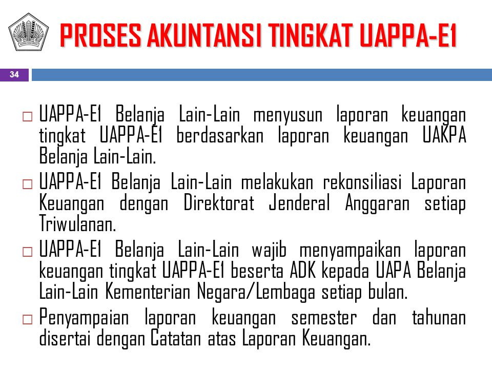 PROSES AKUNTANSI TINGKAT UAPPA-E1