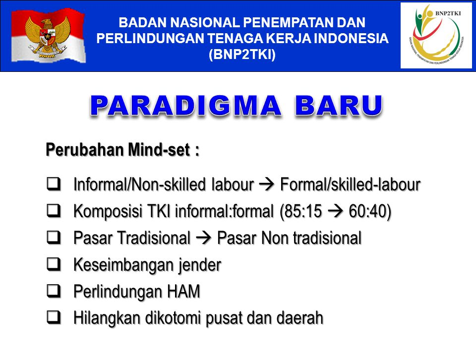 Informal/Non-skilled labour  Formal/skilled-labour