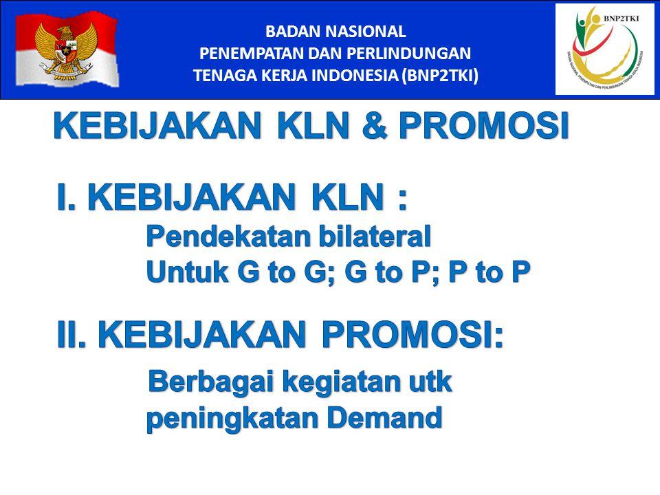 PENEMPATAN DAN PERLINDUNGAN TENAGA KERJA INDONESIA (BNP2TKI)
