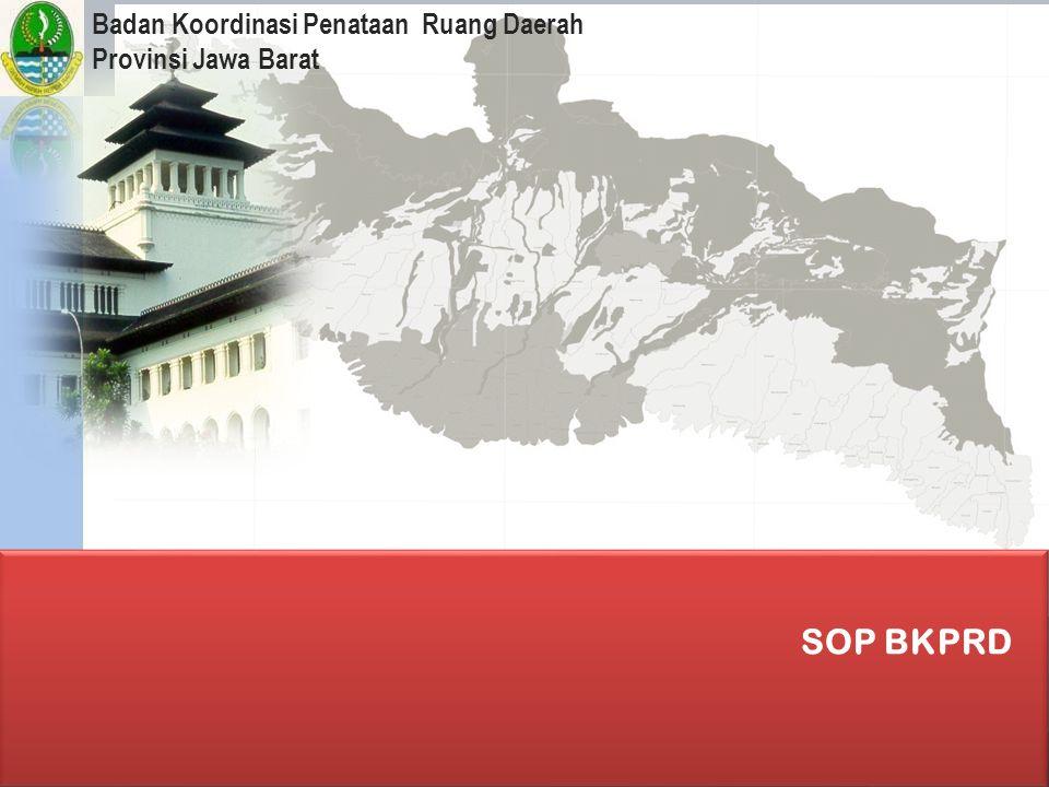 Badan Koordinasi Penataan Ruang Daerah Provinsi Jawa Barat