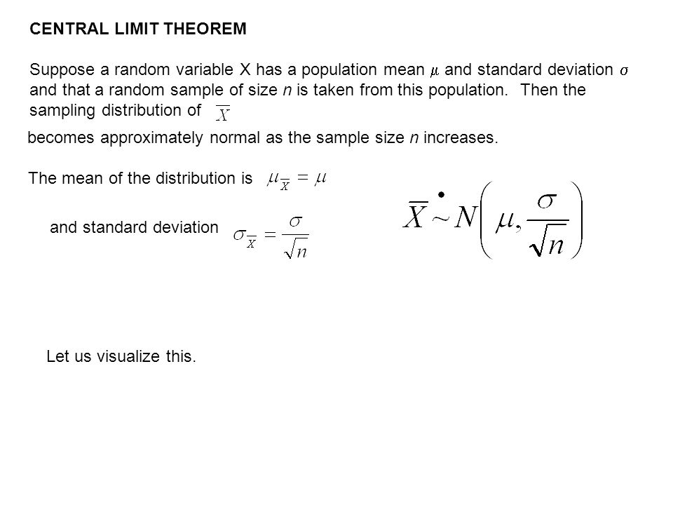 The mean of the distribution is
