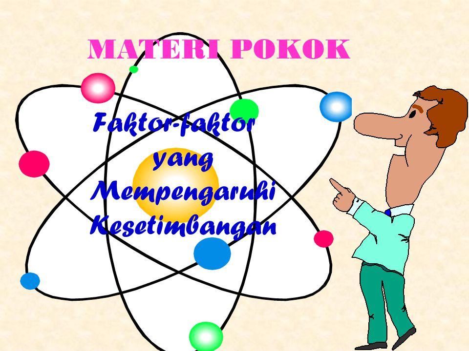 Faktor-faktor yang Mempengaruhi Kesetimbangan