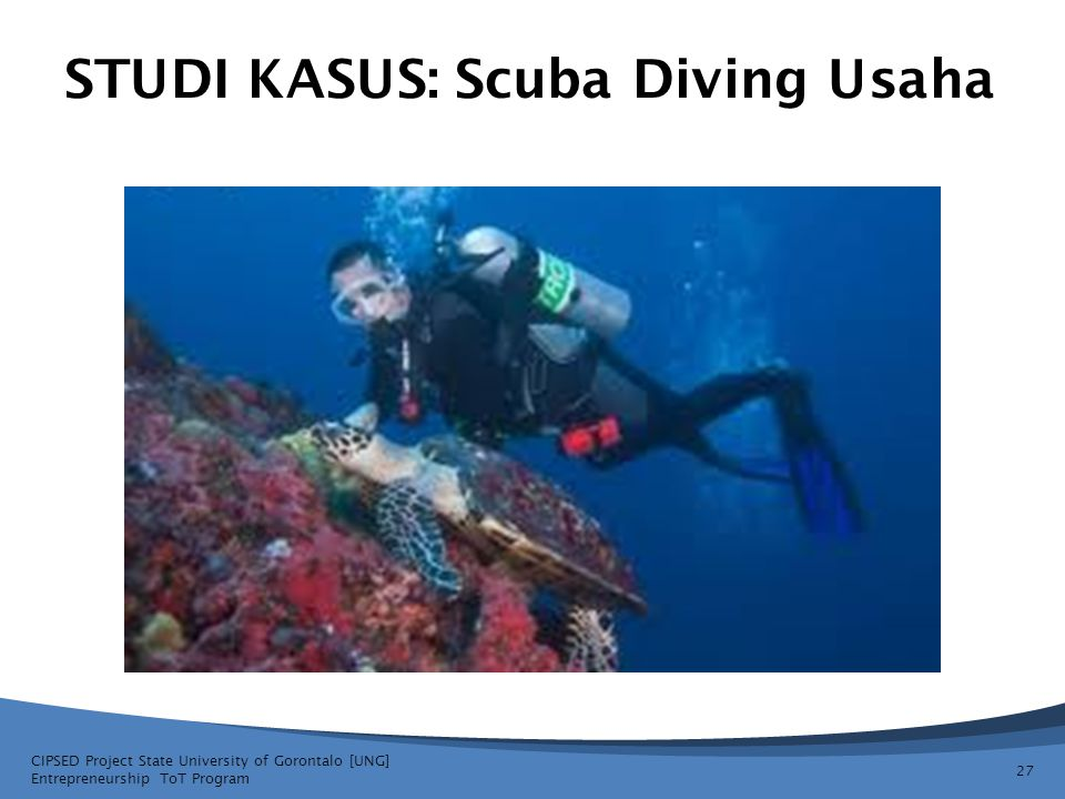 STUDI KASUS: Scuba Diving Usaha