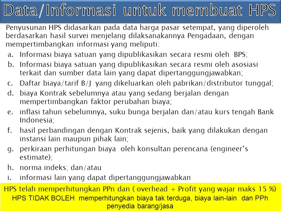 1. PENGERTIAN HPS