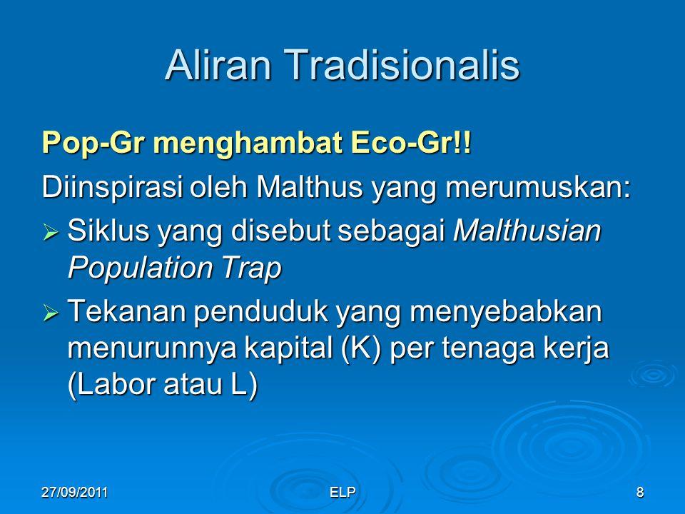 Aliran Tradisionalis Pop-Gr menghambat Eco-Gr!!