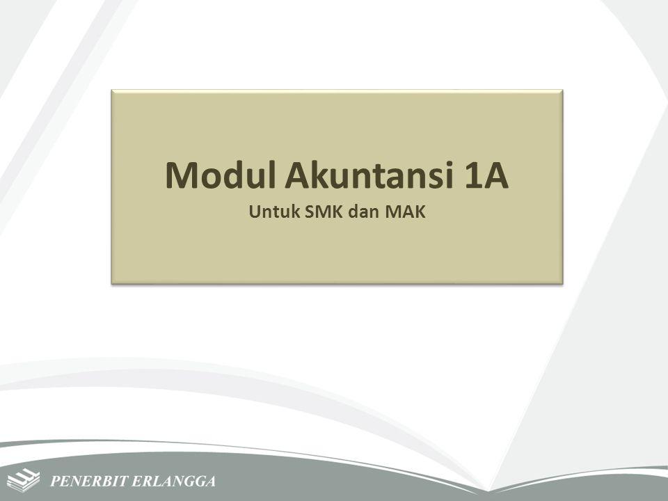 Modul Akuntansi 1A Untuk SMK dan MAK