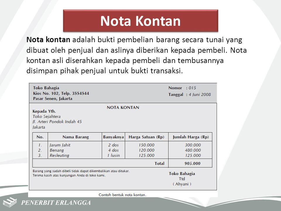 Nota Kontan