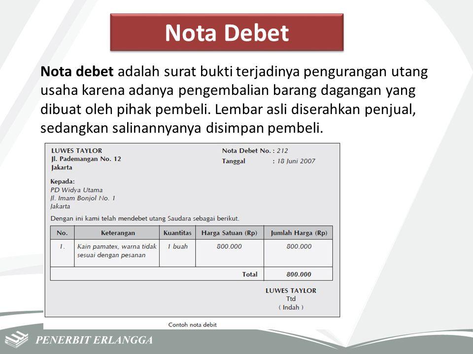 Nota Debet