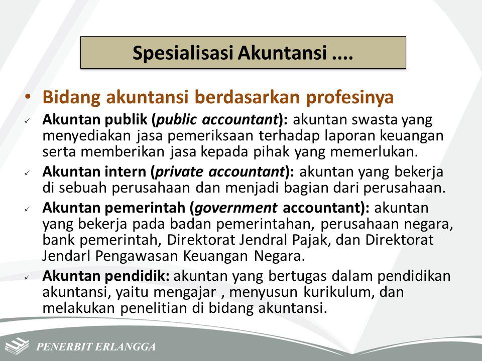 Spesialisasi Akuntansi ....
