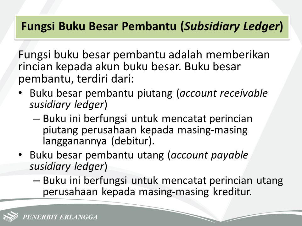 Fungsi Buku Besar Pembantu (Subsidiary Ledger)