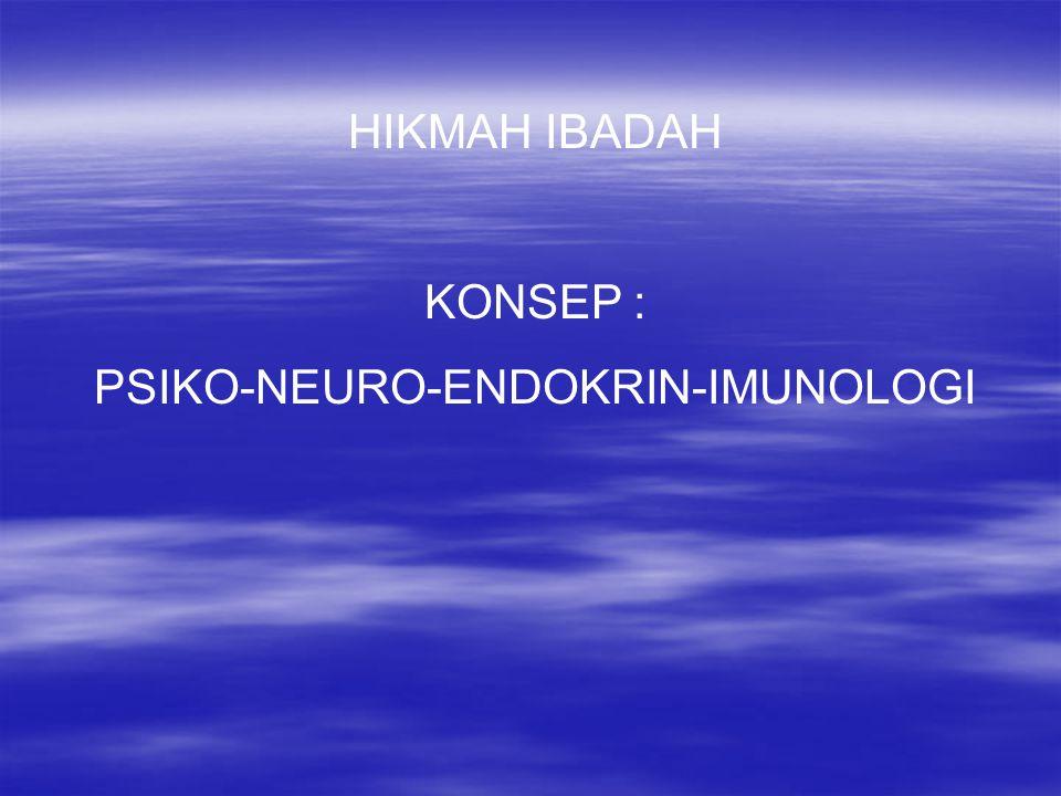 PSIKO-NEURO-ENDOKRIN-IMUNOLOGI