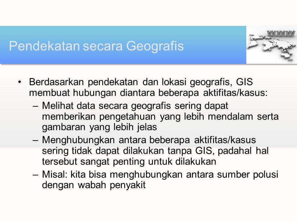 Pendekatan secara Geografis