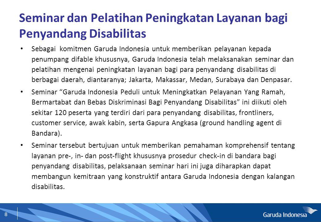 Seminar dan Pelatihan Peningkatan Layanan bagi Penyandang Disabilitas