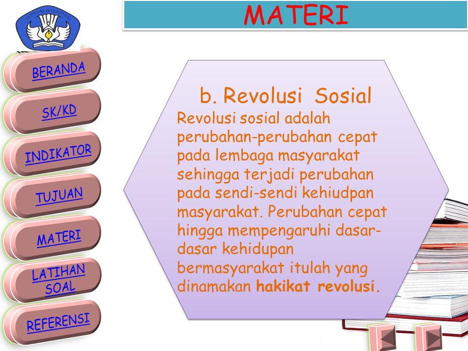 MATERI b. Revolusi Sosial