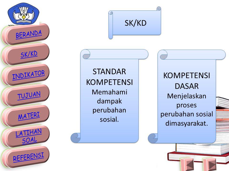 SK/KD STANDAR KOMPETENSI KOMPETENSI DASAR
